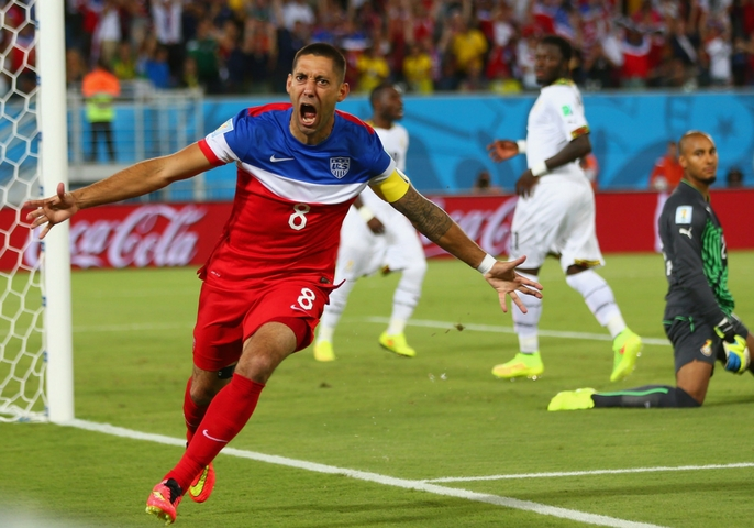Clint Dempsey Professional Soccer Player