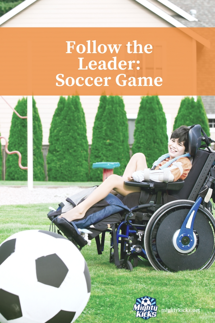 Fun At Home Soccer Games for Kids - #soccer #teachsoccer @MightyKicks