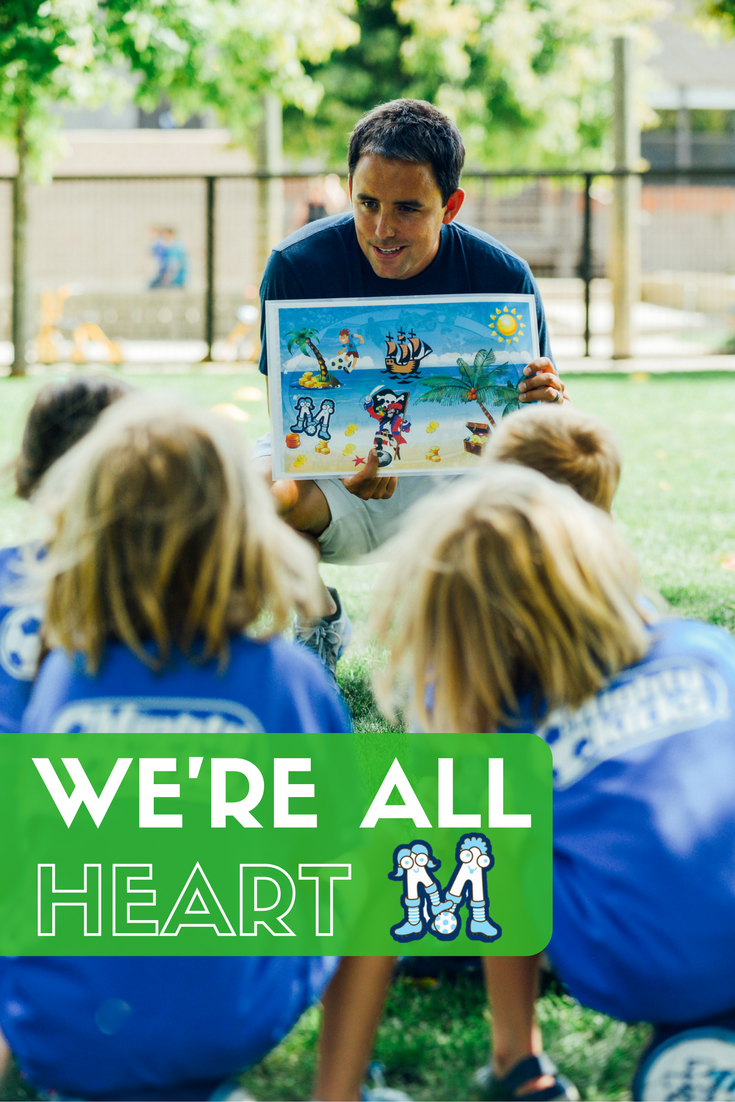 It's All About the Heart - #soccer #whatwelookfor @MightyKicks